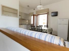 appartamento per 6 persone con soggiorno e 2 bagni