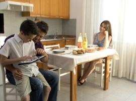 appartamento per coppia con bambino o per amici